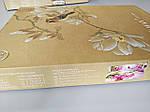 Комплект постільної білизни ELWAY (Польща) 3D LUX Сатин Євро Подарункова упаковка (322), фото 3