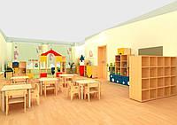 Особливості меблів для дошкільних установ та садів