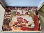 Комплект постельного белья ELWAY (Польша) 3D LUX Сатин Евро Подарочная упаковка (239), фото 2