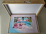 Комплект постельного белья ELWAY (Польша) 3D LUX Сатин Евро Подарочная упаковка (180), фото 2