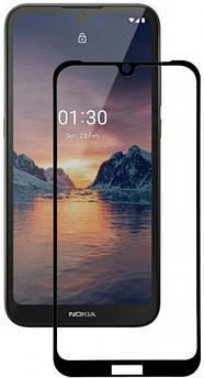 Захисне скло для Nokia 1.3 (Нокія 1.3) на весь екран (чорне)
