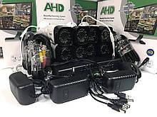 Комплект видео наблюдения Регистратор + 8 проводных камер CCTV DVR KIT CAD D001 2mp\8ch