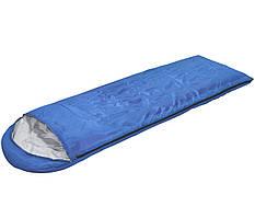 Спальный мешок (спальник) одеяло SportVida SV-CC0051 +2 ...+ 16°C R Blue/Grey