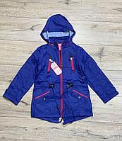 Демисезонная куртка на флисе. Капюшон съемный. 152- 164 рост.