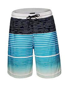 Мужские пляжные удлиненные шорты