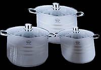 Набор Кухонной Посуды German Family GF-2037 Набор Кастрюль 6 Предметов, фото 1
