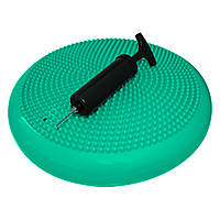 Балансувальна подушка (сенсомоторна) масажна SportVida SV-HK0310 Mint