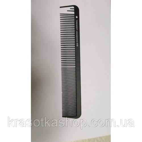 Гребінь T&G Tony&Guy carbon 8180, чорна