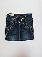 Джинсовая юбка для девочек 110р