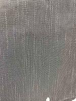 Гарний тюль з льону кремового кольору на метраж, висота 2.8 м, фото 4