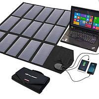 Портативная солнечная панель Allpowers 100W, солнечная батарея, для ноутбука, телефона, планшета, power bank