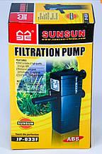 Фильтр внутренний SunSun JP-033F для аквариума до 100 литров