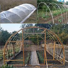 Каркасы теплиц, парников, укрытий для растений с композитной арматуры.