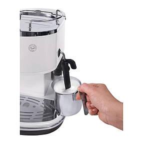 Ріжкова кавоварка еспресо Delonghi Icona ECO 311.W, фото 2