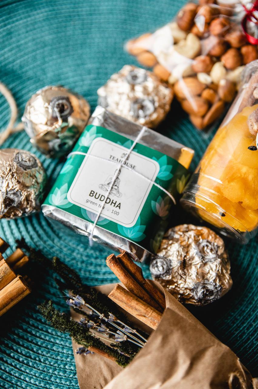 Чай зеленый Будда в брикете 50 гр