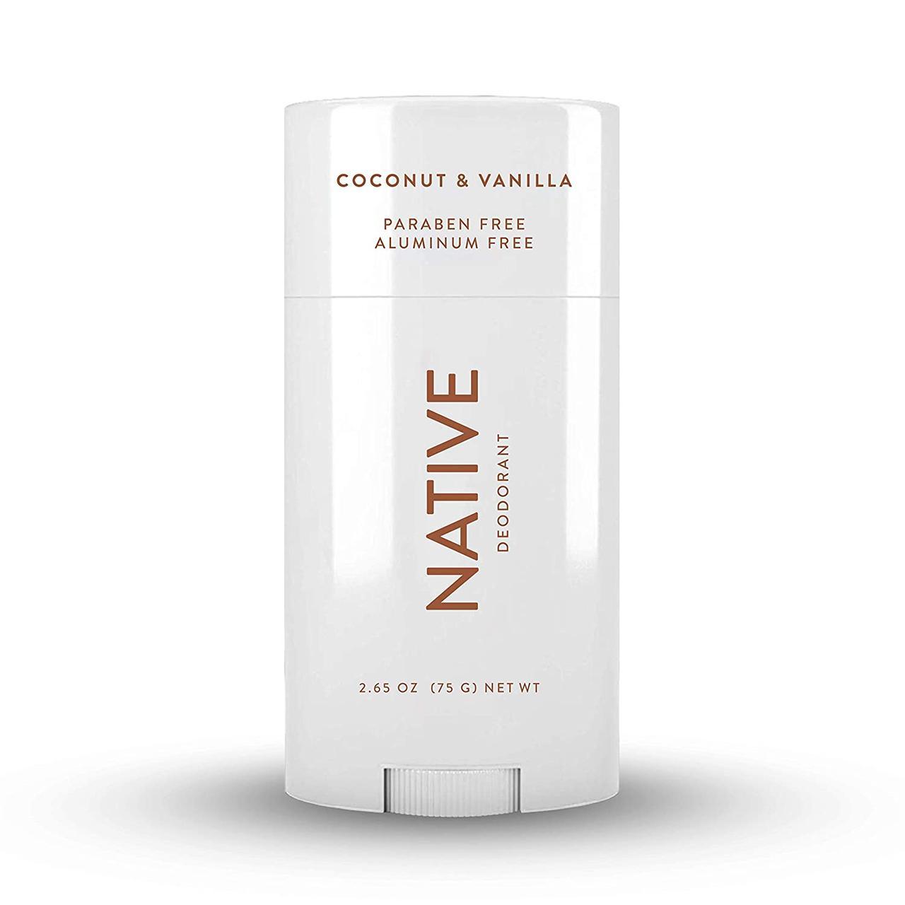 Органический дезодорант Native Natural Deodorant Coconut & Vanilla 75 г