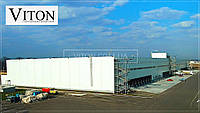 Быстровозводимые БМЗ здания, строительство логистических центров БМЗ из сэндвич-панелей - от 1000 м2.