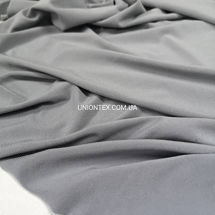 Трикотаж масло светло-серый, фото 2