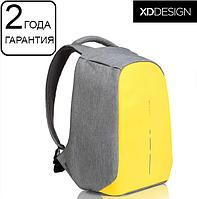 "Антикрадій рюкзак для ноутбука XD Design Bobby Compact Primrose Yellow 14"" (P705.536), фото 1"