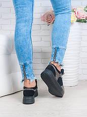 Кросівки ALIKA нікель + замша 6660-28, фото 3