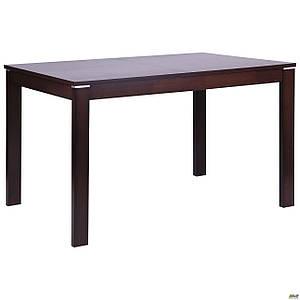 Стол обеденный раздвижной AMF Майн деревянный орех темный