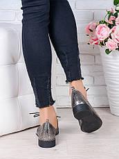 Туфли кожаные сатин (лето) Эвелин 7005-28, фото 3