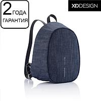 """Жіночий рюкзак протикрадій XD Design Bobby Elle 9.7"""" джинс (P705.229), фото 1"""