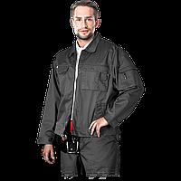 Курточка рабочая LH-WILSTER серого цвета. LEBBER&HOLLMAN. ( размер XXL )