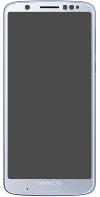 Дисплей (LCD) Motorola XT1925 Moto G6 з тачскріном, сріблястий