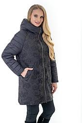 Куртка демисезонная комбинированая с шерстью
