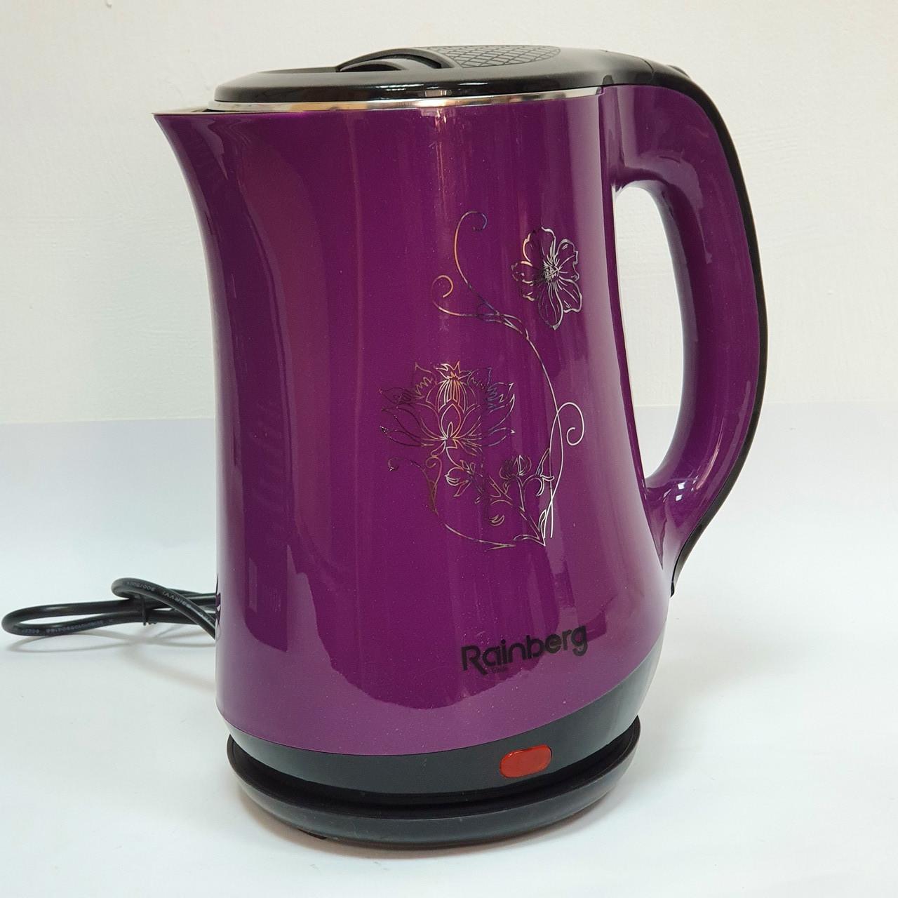 Электрический чайник Rainberg на 2.5 литра RB-903 для дома качественный