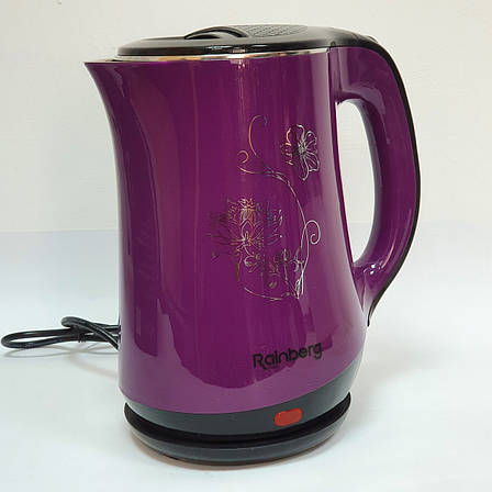 Электрический чайник Rainberg на 2.5 литра RB-903 для дома качественный, фото 2