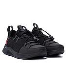 Чоловічі шкіряні кросівки Jordan чорні, фото 6