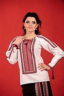 Стильная женская вышиванка, размер 52