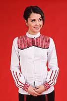 Женская вышитая рубашка, размер 52