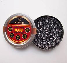 Кулі 4.5 мм Winner 0,68 г круглоголові (200шт) 13344