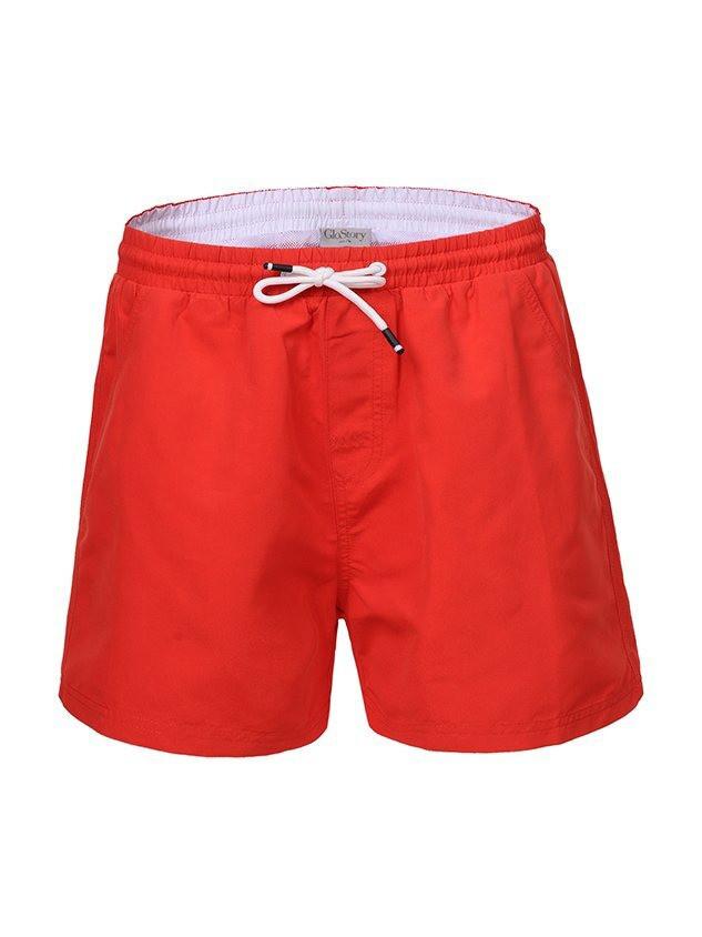 Мужские пляжные короткие шорты в большом размере