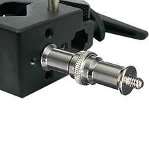 Універсальний адаптер втулка VISICO М11-001 1/4 тато і тато 3/8, фото 3