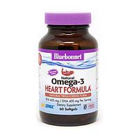 Омега-3 Формула для Серця Heart Formula 60 желатинових капсул