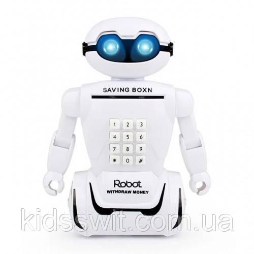 Робот копилка-сейф Robot Bodyguard 3473 VJ Розовая