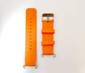 Силиконовый ремешок для детских часов Smart Baby Watch Q100 Orange (LX-20K)