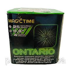 Салют ONTARIO 25 выстрелов 20 калибр | Фейерверк P7049 Magictime