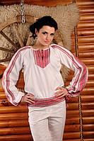 Женская вышитая блуза, размер 54
