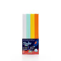 Набір стержнів для 3D-ручки 3Doodler Start - МІКС (24 шт: білий, м'ятний, жовтий, оранжевий), 3DS-ECO
