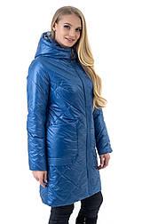 Стильная женская куртка батал Liardi