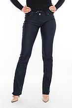 Женские джинсы прямые OMATjeans 9550 темно-синие