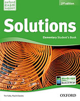 Solutions 2nd Edition Elementary: Student's Book
