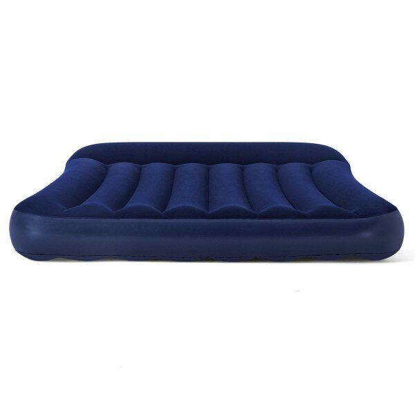 Матрас велюровый кровать надувная Pavillo Bestway 67681  191 x 137 x 30 см, полутораместный