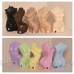 Жіноче тіло (торс) колір на вибір БЕЗ АРОМАТУ