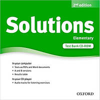Solutions 2nd Edition Elementary: Test CD-ROM